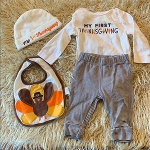 My First Thanksgiving lot of 4 outfit